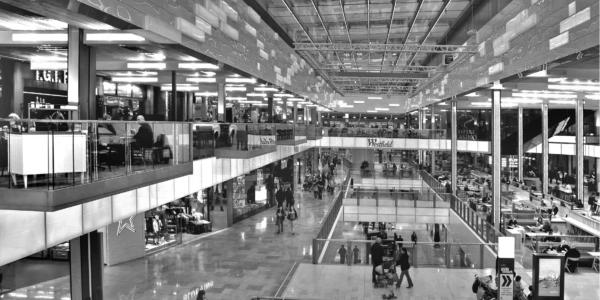 centro comercial como mass media