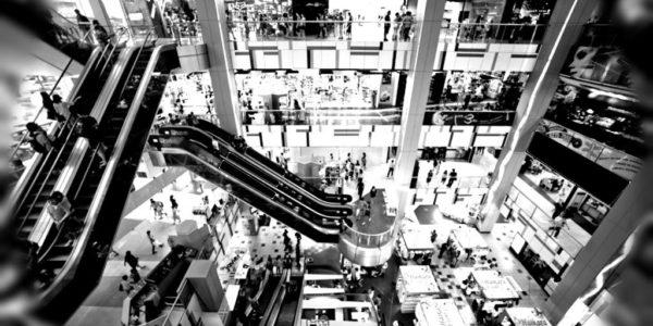 Algumas pistas para o centro comercial