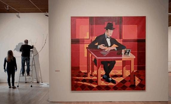 Retrato de Fernando Pessoa, de Almada