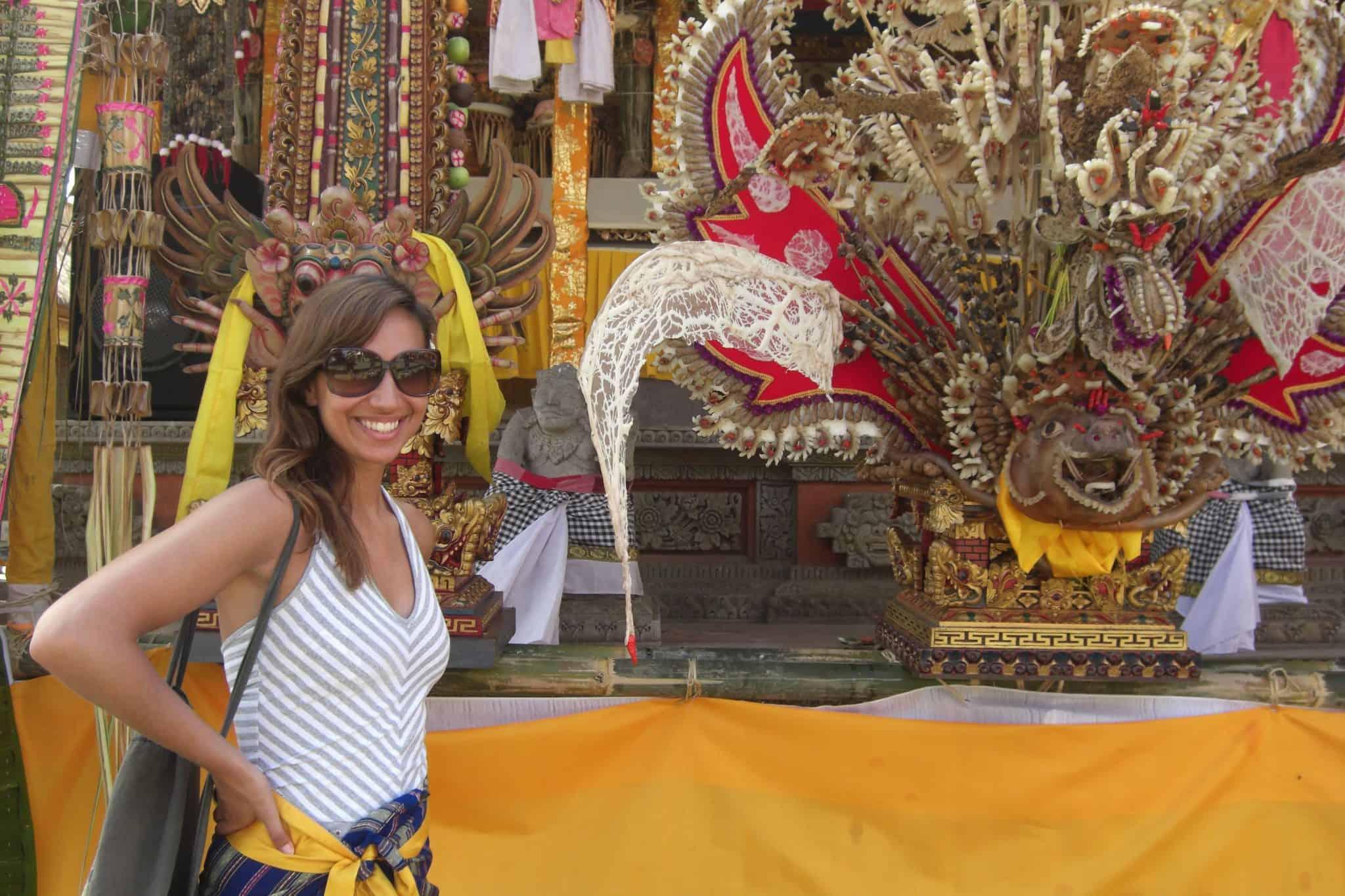 Templo Saraswati, em Ubud, Bali