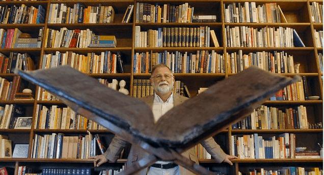 Alberto Manguel doa biblioteca pessoal à cidade de Lisboa 71