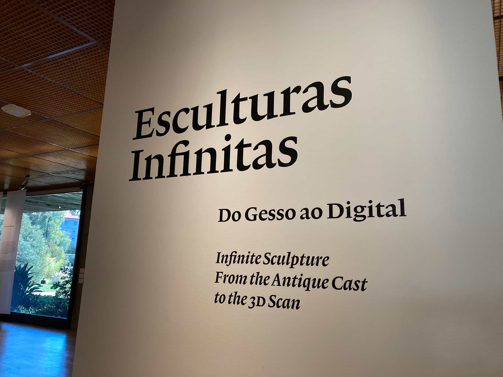 Esculturas Infinitas – Do Gesso ao Digital