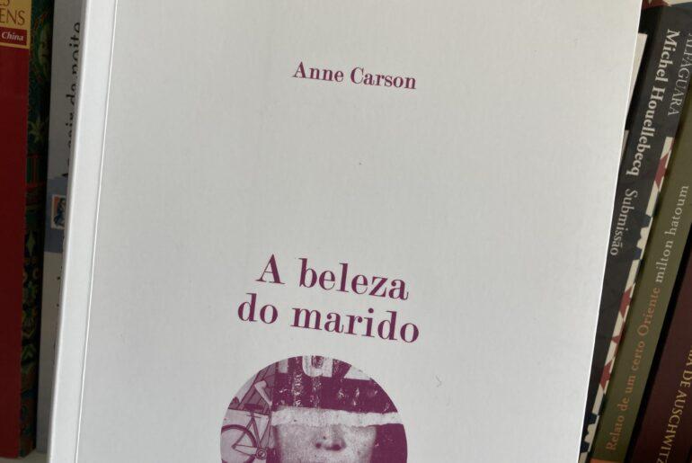 A beleza do marido, Anne Carson 5